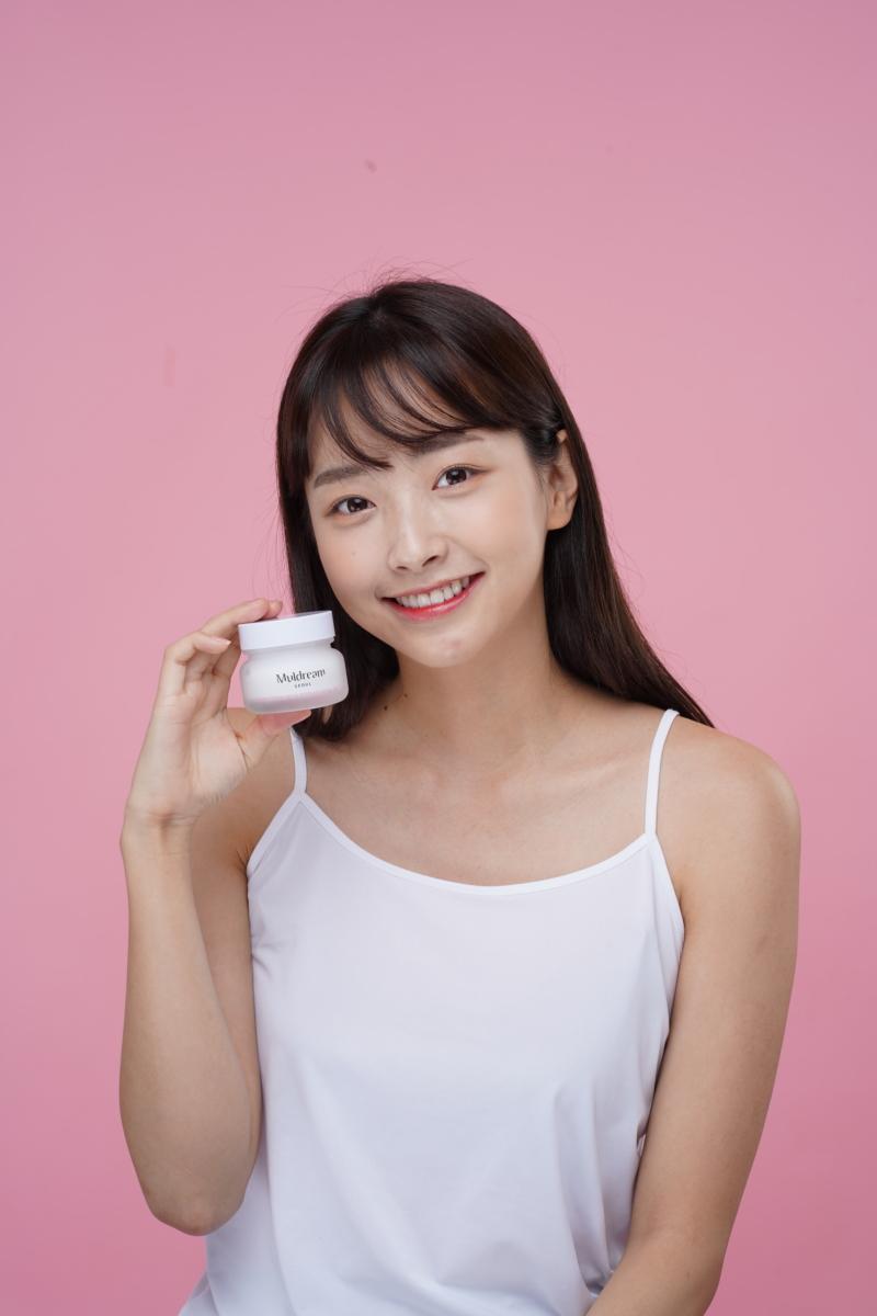 Muldream vegan green mild intense facial cream