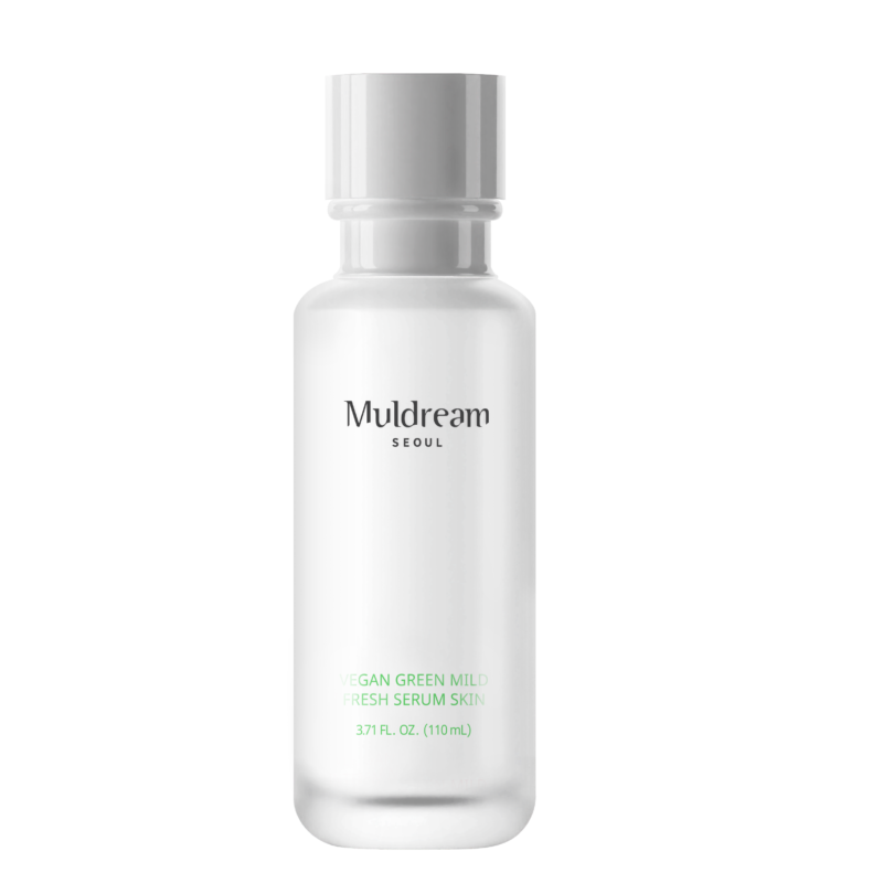 Muldream vegan green mild fresh serum skin