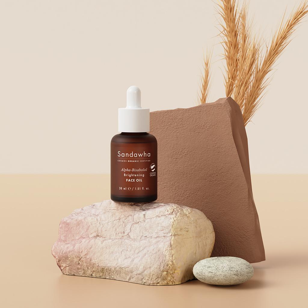 Vegan Skincare Sandawha Alpha-bisabolol Brightening Face Oil 2