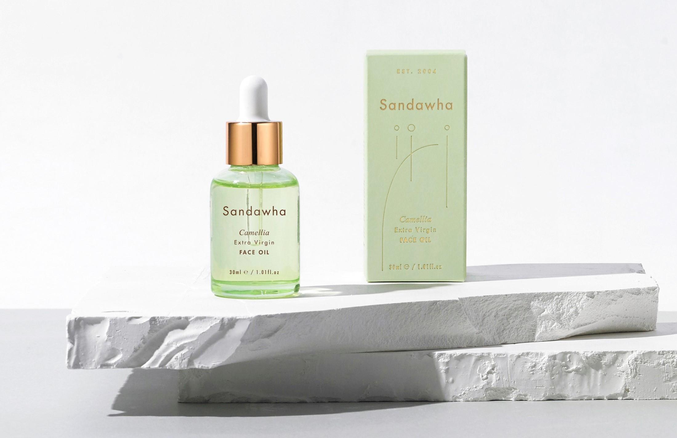 Sandawha Camellia extra-virgin face oil