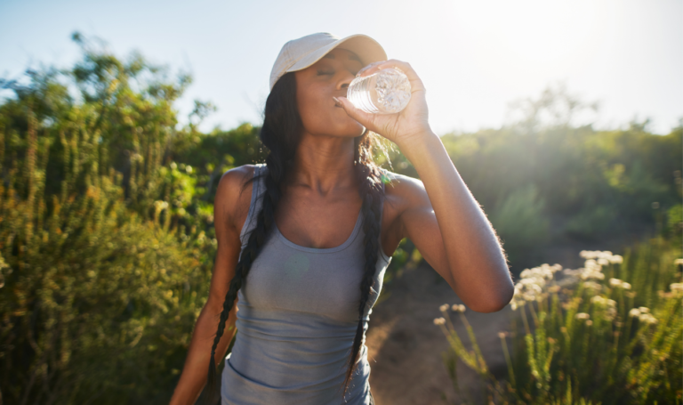 Hydrate your skin water vegan organic skincare lief essentials
